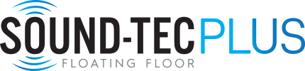 Logo for Sound-Tec Plus line of vinyl flooring products from Urban Surfaces