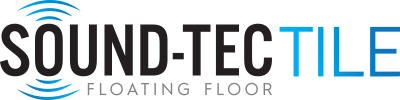 Logo for Sound-Tec Tile line of vinyl flooring products from Urban Surfaces