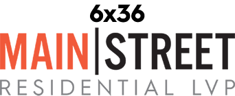 Logo for Main Street line of vinyl flooring products from Urban Surfaces