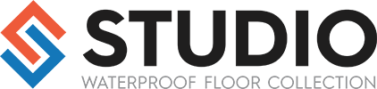 Logo for Studio line of vinyl flooring products from Urban Surfaces