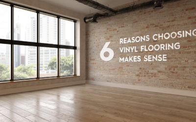 Six Reasons Choosing Vinyl Flooring Makes Sense