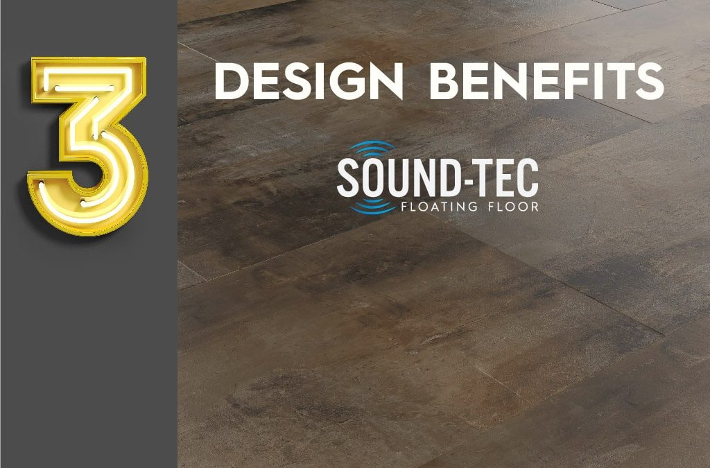 3 design benefits of Sound-Tec Tile vinyl flooring