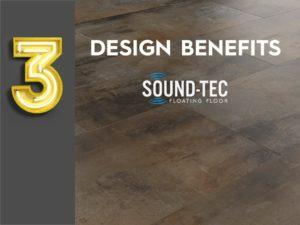 Design Benefits of Sound-Tec vinyl flooring