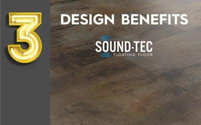 3 design benefits of Sound-Tec Tile vinyl flooring