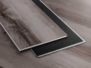 Planks of Kodiak shade of our Vinyl Flooring