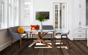 Example of high shade variation flooring
