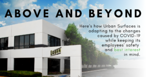 Above and Beyond at Urban Surfaces