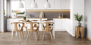 Example Kitchen from 2020 Summer Flooring Trend