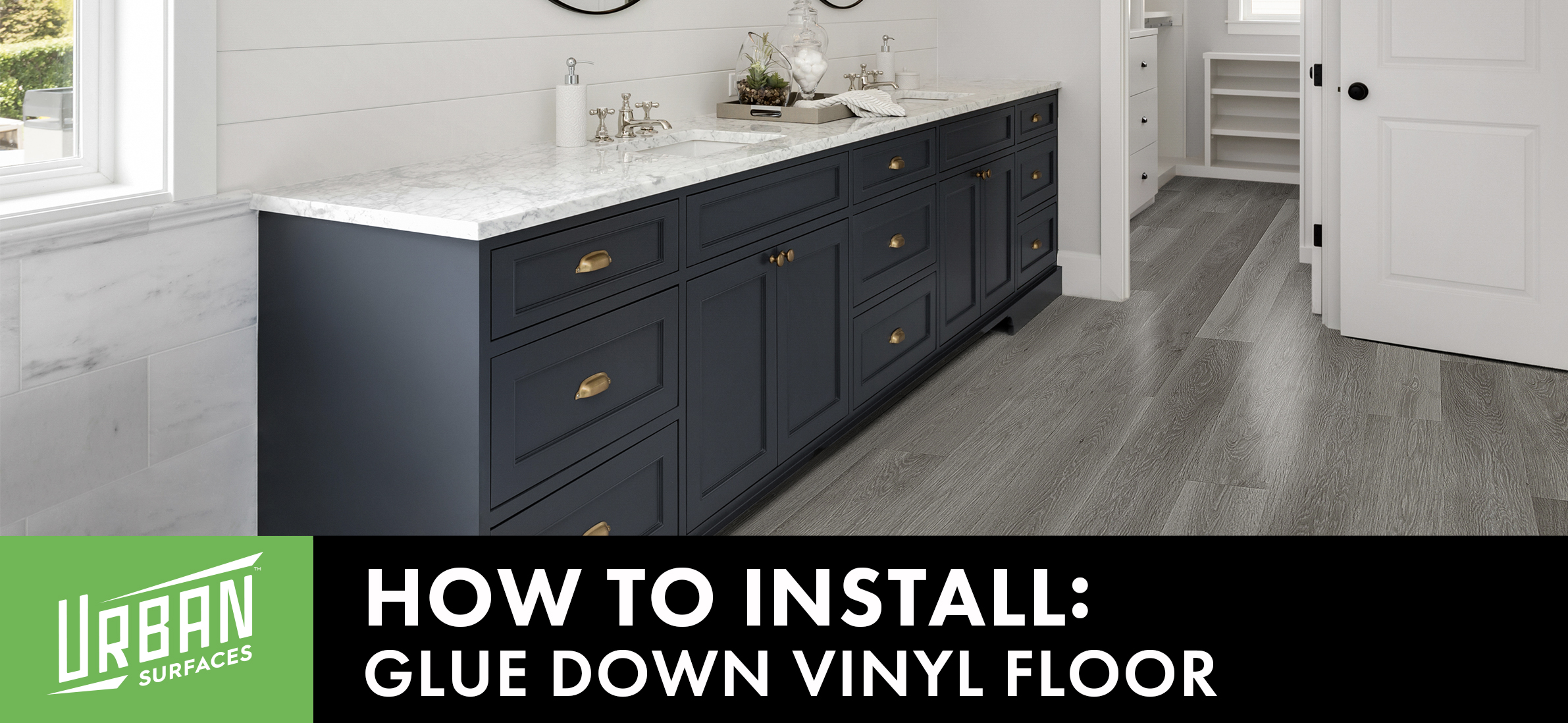 How to Install Our Glue Down Vinyl Flooring