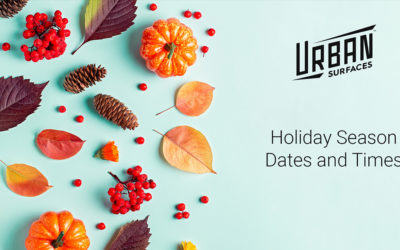 2020 Holiday Season Dates and Times