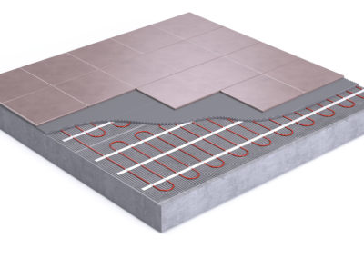Thumbnail depicting Can vinyl flooring be installed over radiant heat?