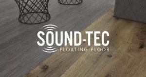 Sample of Sound-Tec SPC Floating Floor installed